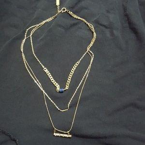 Bresma Munin Gold Layered Necklace